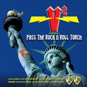 V Squared - Pass the Rock n Roll Torch