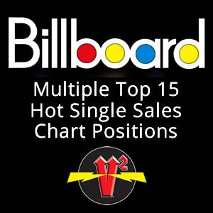 V Squared Multiple Top 15 Hot Single Sales