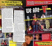 Vittorio and Vincenzo Featured in International Teen Magazines