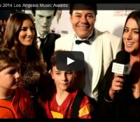 (video) Vittorio and Vincenzo's Red Carpet Interview, LA Music Awards