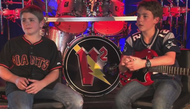 Rock News Around the Web – V² Live Concert… 11 Year Old Rockers!
