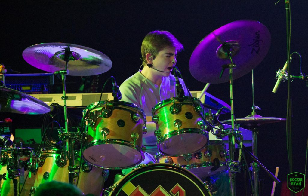 Vincenzo on the Drums